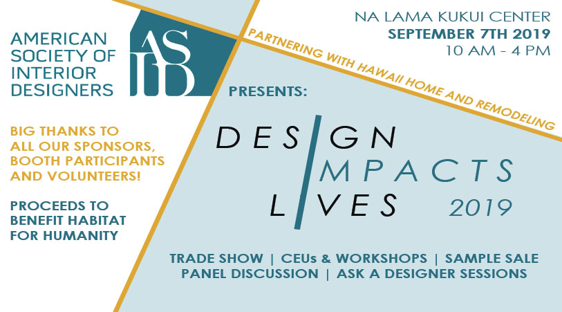 Design Impacts Lives - Fundraiser for Habitat for Humanity